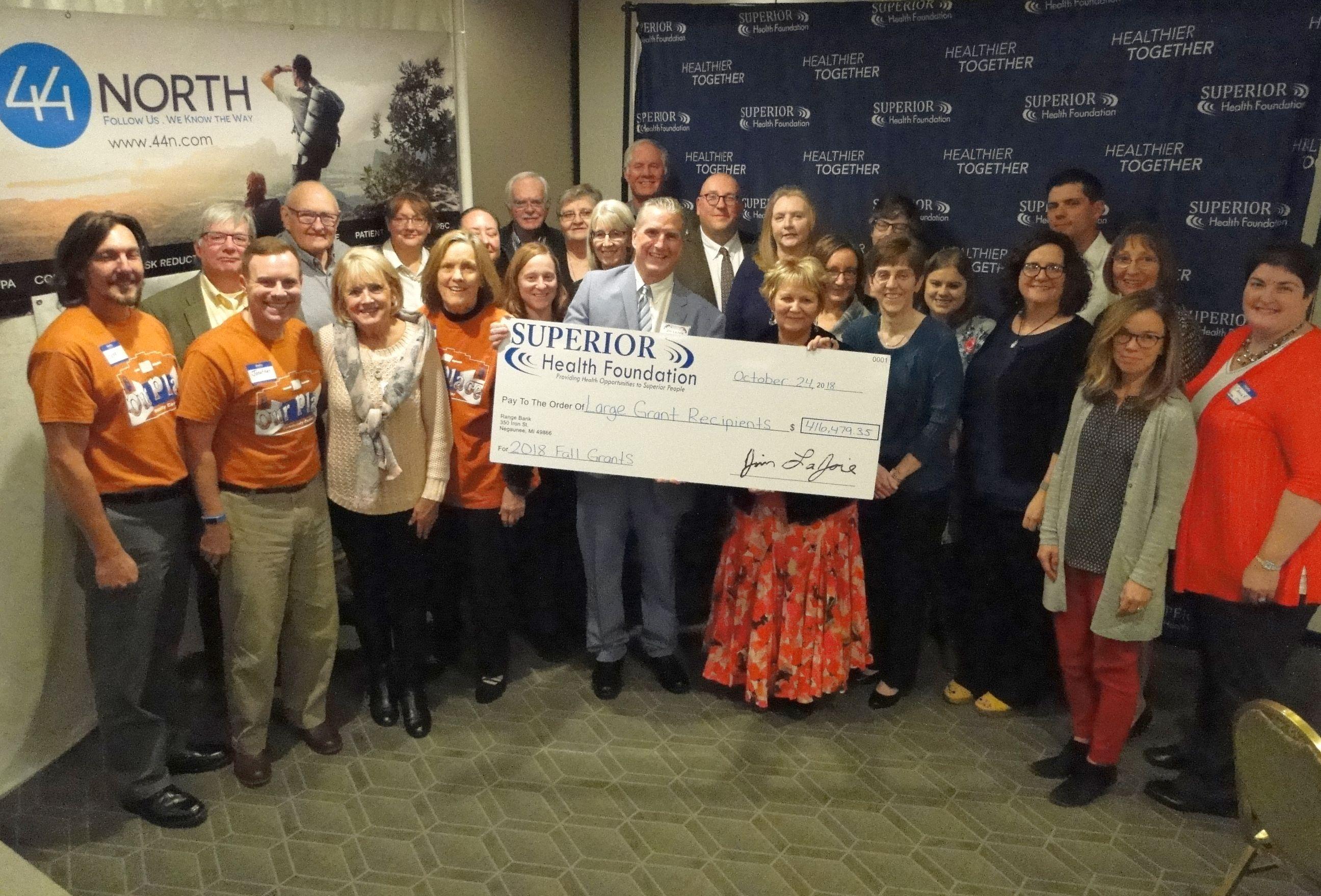 Large Grants | Superior Health Foundation